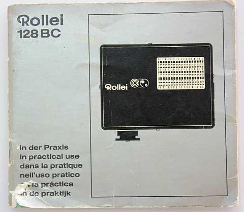 Bedienungsanleitung-Rollei-128BC-128-BC-128-BC-Gebrauchsanleitung