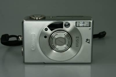 Canon-IXUS-II-2-mit-23-46mm-1-4-2-5-6-defekt